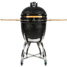 Coyote Black Stainless Steel Asado Smoker (304 Sainless Steel, Ceramic Construction)
