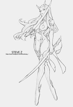 Fantasy Character Design, Character Art, Drawing Sketches, Drawings, Arte Sketchbook, Character Sketches, Drawing Reference Poses, Art Poses, Anime Sketch