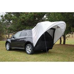 Napier Sportz Cove SUV/Minivan Tent Great for Tailgating Picnics Camping 61500 Diy Camping, Camping Cot, Best Tents For Camping, Camping Places, Family Camping, Camping Gear, Outdoor Camping, Outdoor Gear, Camping Essentials
