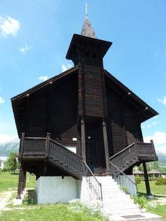 Dolny Smokovec wooden church - June 2014