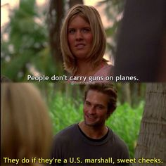Shannon and Sawyer Lost Memes, Lost Quotes, Terry O Quinn, Lost Tv Show, Josh Holloway, Matthew Fox, Addicted Series, In Another Life, Sweet Cheeks