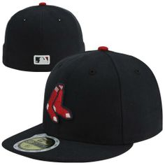 New Era Boston  RedSox 59FIFTY Youth OnField Authentic Fitted Hat Navy Blue Boston  Red Sox ea3e305e623