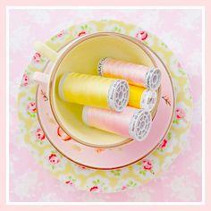 pretty thread by Mary Jane's TEAROOM, via Flickr