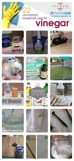 22 Uncommon Uses for Vinegar.