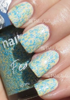 Nails Inc Feathers Collection Swatches
