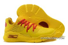 """https://www.womencurry.com/new-arrival-under-armour-curry-4-low-bruce-lee-yellow-red-lastest.html NEW ARRIVAL UNDER ARMOUR CURRY 4 LOW """"BRUCE LEE"""" YELLOW RED LASTEST Only $91.15 , Free Shipping!"""