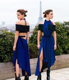 Emma Watson: This look seems very Rey-inspired.