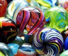 marbles   Canicas de colores