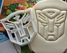Transformers Autobots Symbol Cookie Cutter / Made From Biodegradable Material / Brand New