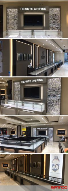 Benchmark Jewelers. Manufacture & Design of Store Fixtures by Artco Group.