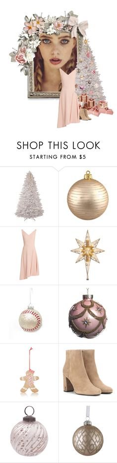"""""""Light Pink Braids"""" by elmtree87 ❤ liked on Polyvore featuring Osman, National Tree Company, Kurt Adler, Yves Saint Laurent and Avon"""