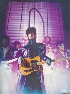 Prince and the Revolution, photo from the album /1999/, 1982.