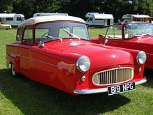1956 - Bond Minicar Mark F Family Saloon