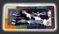 Skin Illustrator - ZOMBIE PALETTE $90