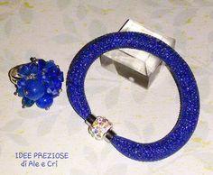 """Braccialetto / bracelet, anello / ring """"Idee Preziose di Ale e Cri"""""""