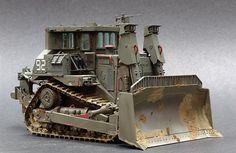 D9R Doobi Bulldozer 1/35 Scale Model