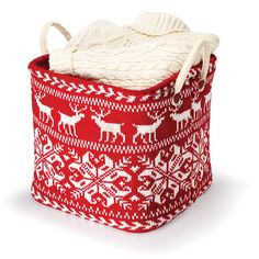 Store in style! Either to store blankets or gloves and hats, store them in this cute basket perfect for the holidays. Regularly $19.99, shop Avon Living online at http://eseagren.avonrepresentative.com