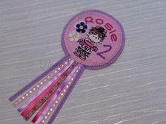 Cute Ballerina Birthday Badge - Rosette - Ballet - Dancer - Celebration - Sketch Art - Party by AHeartlyCraft on Etsy