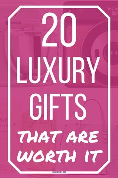 Check out these 20 luxury gifts to give to find the best high-end gifts that are worth it. Click here to take a look at the best luxury gifts to give that are worth the money! Tech Gifts For Men, Luxury Gifts For Women, Cool Tech Gifts, Unique Gifts For Boyfriend, Best Gifts For Him, Boyfriend Gifts, Birthday Gift For Him, Birthday Gifts For Boyfriend, Valentines Day Gifts For Him