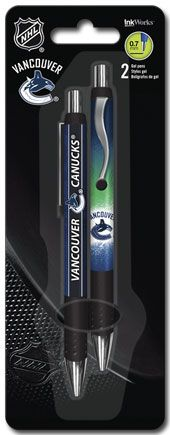 NHL Vancouver Canucks - Gel Pen - 2pk