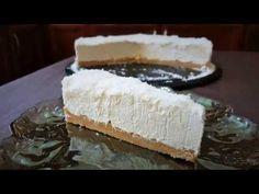 Εύκολη τούρτα με μους λευκής σοκολάτας και καρύδα!! - YouTube Greek Recipes, Cheesecake, Deserts, Sweets, Food, Youtube, Art, Art Background, Good Stocking Stuffers