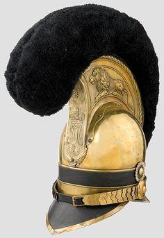 Elmetto della guardia del corpo dell'esercito bavarese, 1814