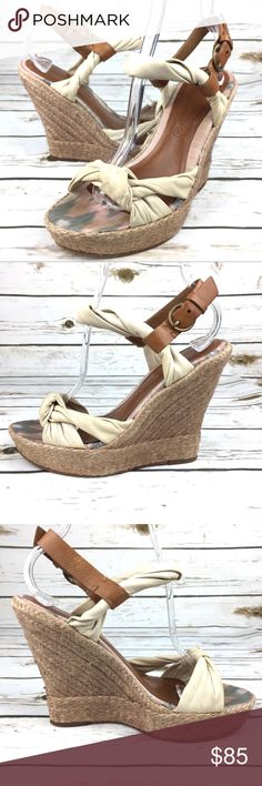 All Saints Sola Espadrilles Size 7.5 Cream Wedges All Saints Sola Espadrilles Size 7.5 Cream Wedges Women's Shoes. Good condition. Does show some wear on upper and stains on footbed. View pictures for more details 3K2 All Saints Shoes Espadrilles