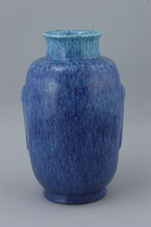 A Chinese robin's egg glazed vase, impressed Qianlong seal mark, 18th/19th century
