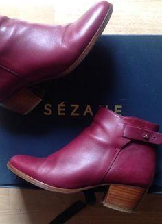 À vendre sur #vintedfrance ! http://www.vinted.fr/chaussures-femmes/bottines/48774315-bottines-sezane-37