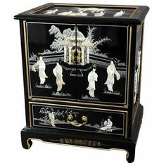 online shopping for Oriental Furniture Black Lacquer End Table from top store. See new offer for Oriental Furniture Black Lacquer End Table Asian Furniture, Oriental Furniture, Classic Furniture, Furniture Deals, Japanese Furniture, Chinese Furniture, Bamboo Furniture, Furniture Movers, Furniture Stores