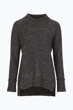 БОЛЕЕ BASIC свитер коренастый вязаной