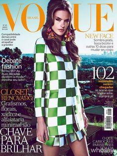 Alessandra Ambrorio / Vogue Brasil / Marzo 2013