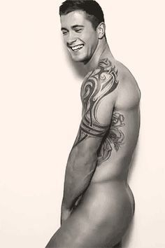 Generally standing around looking beautiful. | Why You Should Be Totally Obsessed With British TV Hunk Dan Osborne