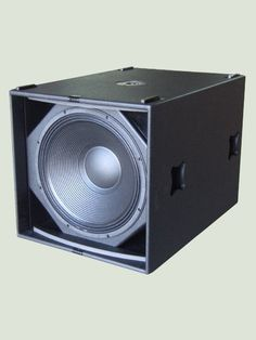 """Our LW SW G718 is a 1x18"""" 1.000W bass reflex superb subwoofer system for any kind of touring sound equipment. The bass reflex technology delivers the..."""