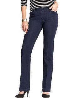 Women's Denim Trousers | Old Navy