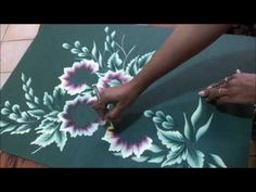 Blue and Pink Flower Cluster - YouTube