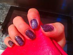 Galaxy nail art, Sephora nail patch art.