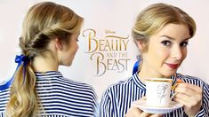 HAIR TUTORIAL BELA E O MONSTRO/BEAUTY AND THE BEAST | Alice Trewinnard