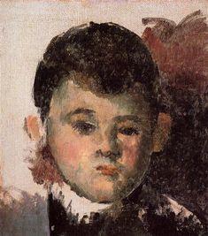 Portrait of the Artist's Son, 1878 - Paul Cezanne - WikiArt.org