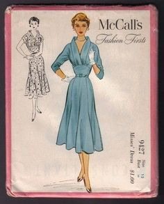 Vintage McCall's Sewing Pattern 9427