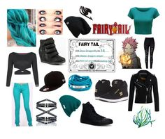 """""""Dew Dragonfly (fairytail oc)"""" by forever12-i on Polyvore featuring New Era, Eva Fehren, Neff, Blooming Lotus Jewelry, DC Shoes, Converse, Superdry, WearAll and WithChic"""