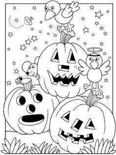 Halloween, sorcières et monstres - L'école de Crevette