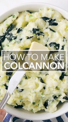 Recipes Videos Colcannon Potatoes are an Irish mashed potato recipe with mixed with greens and scallions and LOTS of butter and cream. You can't go wrong with this green-filled dish on St. Irish Mashed Potatoes, Colcannon Potatoes, Colcannon Recipe, Vegetable Dishes, Vegetable Recipes, Vegetarian Recipes, Cooking Recipes, Irish Dinner, Scottish Recipes