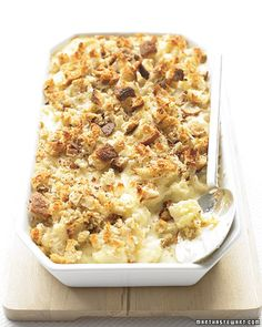 I'm really interested in trying this cauliflower gratin