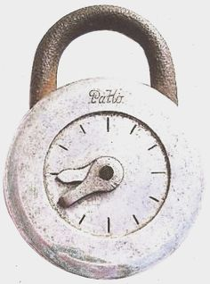 Old Combination Lock