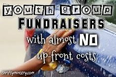 Thrifty Ministry: Youth Group Fundraisers {With Almost No Up-Front Costs}