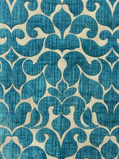 OKUMOTO B6430 #blue-turquoise #patterns #woven-fabrics