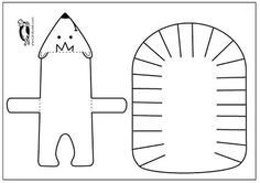 Hedgehog – paper model   krokotak