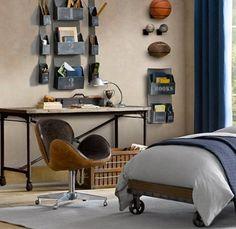 12 Modern Teen Bedroom Designs Based On Boy's Hobbies | Kidsomania