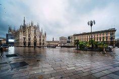 Stamattina in piazza Duomo con Franco Brandazzi #milanodavedere Milano da Vedere
